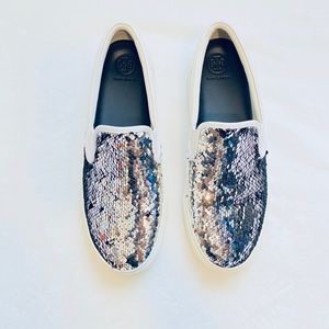 TORY BURCH Carter Slip-on Sequin Sneakers